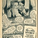 1943 Advert Bob Hope Betty Hutton Let's Face It Melisse Goes to Paramount Ad Magazine Advertisement