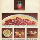 1964 Borden's Cheese Ad Double the Italian Flavor with Bordens Parmesan & Romano