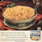 1964 Kraft Macaroni and Cheese Deluxe Home Cooked Dinners 1960s Ad Advert