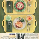 1964 Miracle Whip Salad Dressing Tray Gay 1960s Ad Advert Kraft