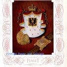 Vintage 1945 Piaget Watch Co. Georges Piaget & Cie Switzerland 1940s Swiss Ad Publicite Suisse