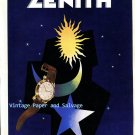 Vintage 1952 Zenith Watch Company Un Palmares Extraordinaire 1950s Swiss Ad Publicite Suisse