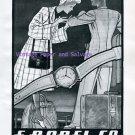 Vintage 1945 E Borel Co Ernest Borel Watch Company Neuchatel Switzerland 1940s Swiss Ad Suisse