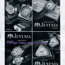Vintage 1945 Juvenia Watch Company Switzerland Original 1940s Swiss Ad Publicite Suisse