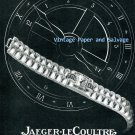 1945 Jaeger-LeCoultre Watch Company Switzerland  Vintage 1940s Swiss Print Ad Suisse