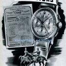Vintage 1945 Leonidas Watch Factory St-Imier Switzerland Swiss Print Ad Suisse