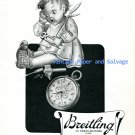 1945 Breitling Watch Company Specialist Advert Vintage 1940s Swiss Ad Advert Suisse