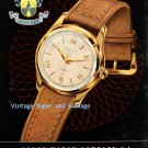 Vintage 1952 Buren Grand Prix Watch Advert Switzerland Original 1950s Swiss Print Ad Suisse
