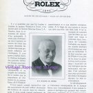 1945 Rolex Watch Company Jubile M H Wilsdorf Societe Montres Rolex SA Switzerland