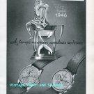 Arsa Watch Company A Reymond SA Switzerland Original 1945 Swiss Ad Advert Suisse