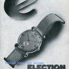 Election Watch Company Switzerland Vintage 1945 Swiss Print Ad Advert Suisse 1940s