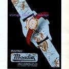 Mondia Watch Company Paul Vermot & Co SA Switzerland Vintage 1945 Swiss Ad Advert Suisse