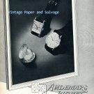 1952 Audemars Piguet Watch Company Switzerland Vintage 1950s Swiss Print Ad Advert Suisse