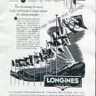Vintage Longines Watch Company Oslo Olympics 1952 Swiss Ad Advert Suisse