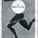 1952 Breitling SA Geneva Switzerland Vintage 1950s Swiss Ad Suisse Breitling Watch Co