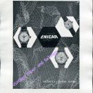 Vintage 1952 Enicar Watch Company Lengnau Switzerland 1950s Swiss Ad Advert Suisse