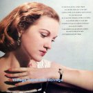 1958 Omega Sapphette Watch Advert Vintage 1950s Spanish Print Ad Publicite Omega CH Switzerland