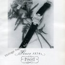 Vintage 1946 Piaget Watch Company La Cote-Aux-Fees Switzerland 1940s Swiss Ad Advert Suisse