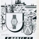 Vintage 1946 Ernest Borel Watch Company E Borel Co Neuchatel Switzerland 1940s Swiss Ad Suisse