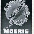 Vintage 1946 Moeris Watch Company Switzerland Original 1940s Swiss Print Ad Advert Suisse