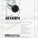 1946 Schild & Co SA Switzerland Vintage 1940s Swiss Ad Advert Suisse Reform Electric