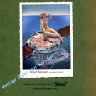 1946 Ogival Watch Company Switzerland Vintage 1940s Swiss Ad Advert Suisse Schweiz