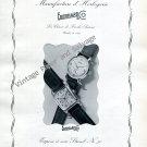 1946 Eberhard & Co Watch Company Switzerland Vintage 1940s Swiss Ad Advert Suisse Schweiz Suiza