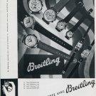 1951 Breitling Watch Company G-Leon Breitling SA Switzerland Swiss Print Ad