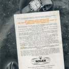 1950 Rolex Wrist Chronometers Kew Observatory Swiss Ad Advert Publicite Suisse