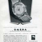 1950 Omega Automatic Chronometer Designed for the Discriminating Swiss Ad Advert Omega Watches CH