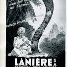 Laniere SA Switzerland Vintage 1946 Swiss Ad Advert Suisse Horlogerie Horology