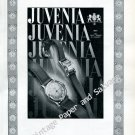 Juvenia Watch Company Switzerland Vintage 1946 Swiss AdAdvert Suisse 1940s