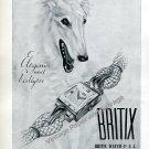 Britix Watch Co SA Switzerland Vintage 1946 Swiss Ad Advert Suisse 1940s