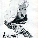 Bremon Watch Company La Chaux-de-Fonds Switzerland 1946 Swiss Ad Advert Suisse 1940s