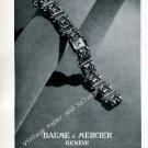 Baume & Mercier Watch Company Switzerland Vintage 1946 Swiss Ad Advert Suisse 1940s