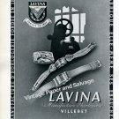 Lavina Manufacture d'Horlogerie Lavina Watch Company Switzerland 1946 Swiss Ad Advert Suisse