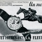 Bovet Freres & Co SA Watch Company Switzerland Vintage 1946 Swiss Ad Advert Suisse 1940s