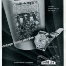 Angelus Watch Company Switzerland Vintage 1946 Swiss Ad Advert Suisse 1940s Angelus Chronodato