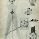 Vintage 1957 Angelus Stolz Freres SA Switzerland 1950s Swiss Ad Advert Suisse Schweiz