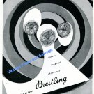 1948 Breitling Chronomat Datora Duograph Watch Advert 1940s Swiss Ad Suisse Switzerland
