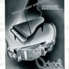 Vintage 1943 Ogival Watch Company Switzerland 1940s Swiss Print Ad Advert Suisse