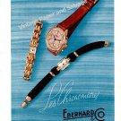 Vintage 1943 Eberhard & Co Watch Company Switzerland 1940s Swiss Print Ad Advert Suisse