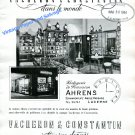 Vintage 1943 Vacheron Constantin Watch Company Switzerland Ahrens 1940s Swiss Ad Advert Suisse