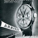 Vintage 1943 Leonidas Watch Factory St-Imier Switzerland 1940s Swiss Ad Advert Suisse