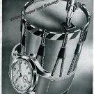 Vintage 1943 Lanco Langendorf Watch Company Switzerland 1940s Swiss Ad Advert Suisse