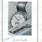 Vintage 1943 Eberhard Watch Company Switzerland 1940s Swiss Ad Advert Publicite Suisse