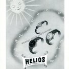 Vintage 1944 Helios Watch Company Switzerland 1940s Swiss Print Ad Advert Suisse