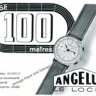 Vintage 1940 Angelus Watch Co Stolz Freres SA Switzerland 1940 Swiss Ad Advert Suisse