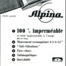 Vintage 1939 Alpina Watch Company Switzerland 1930s Swiss Print Ad Advert Suisse