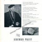 1957 Audemars Piguet Le Meilleur Client Vintage Swiss Ad Suisse Switzerland
